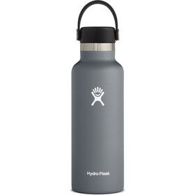 Hydro Flask Standard Mouth Drinkfles met standaard Flex Cap 532ml, stone